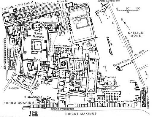 Maria letizia mancuso le terme severiane documenti di for Planimetrie del palazzo mediterraneo